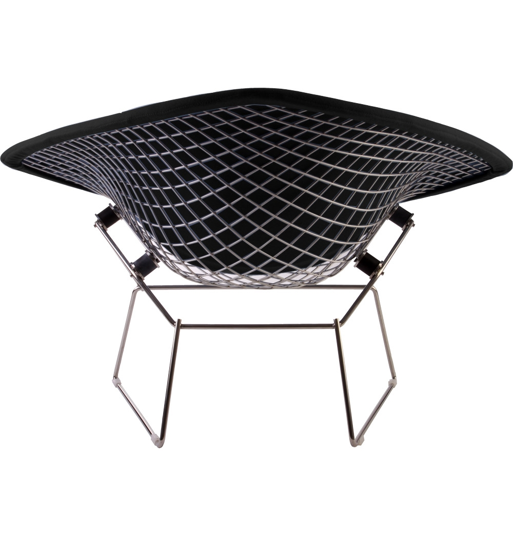 bertoia large diamond chair pyramide design. Black Bedroom Furniture Sets. Home Design Ideas