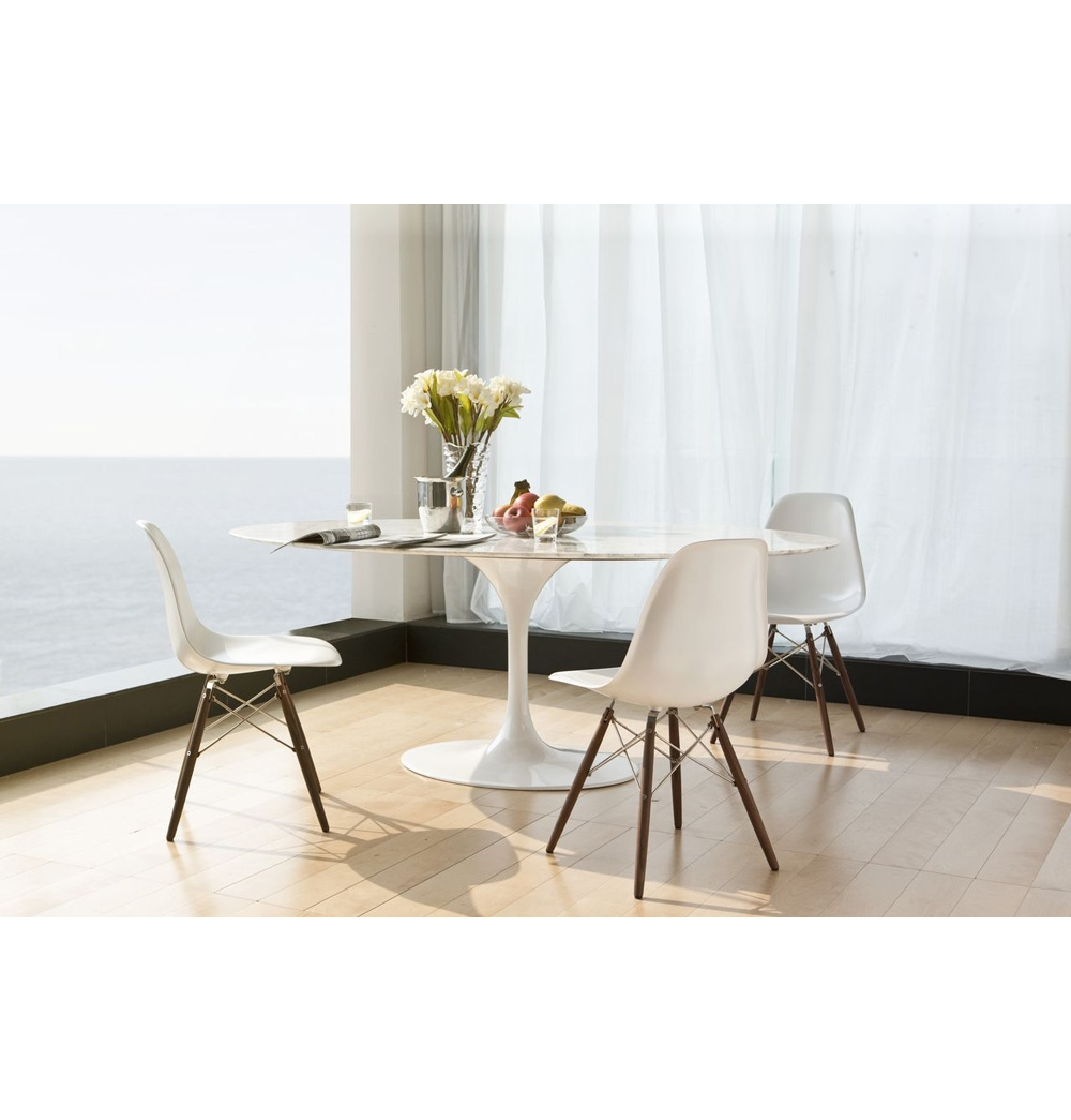 Carrera Marble Dining Room Table