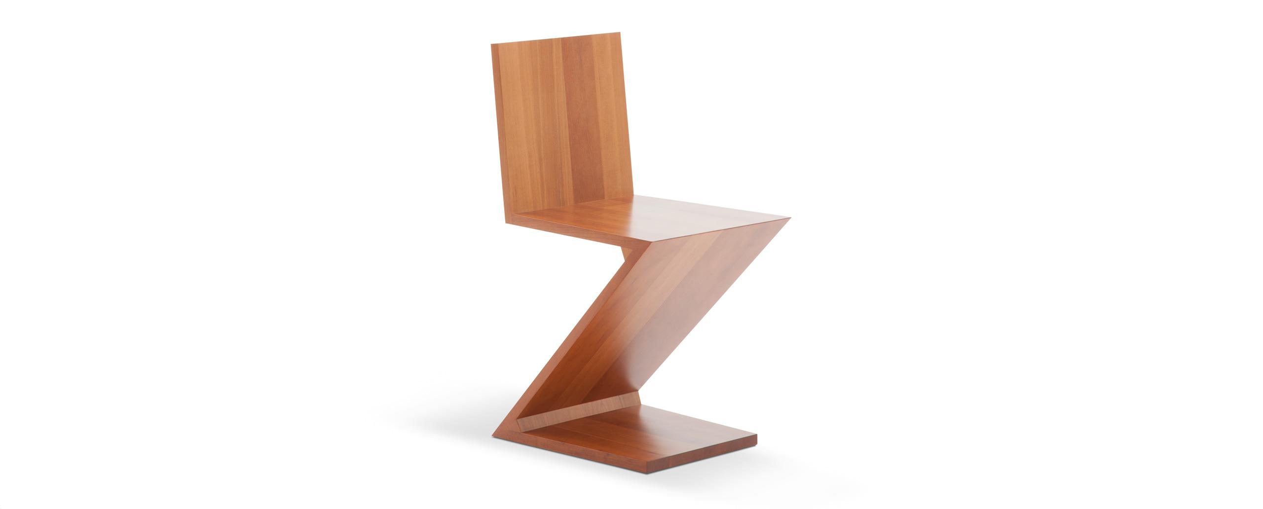 280 zig zag pyramide design for Sedia zig zag cassina prezzo