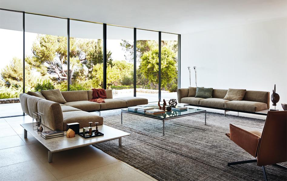 avio le nouveau canap dit par knoll pyramide design. Black Bedroom Furniture Sets. Home Design Ideas